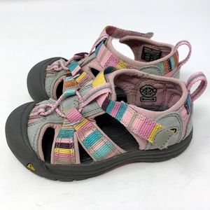 KEEN Toddler Sandals Size 7 Pink